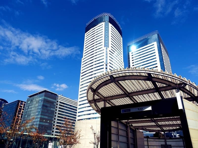 豊洲駅の風景