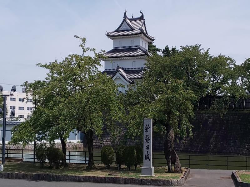 新発田市の風景