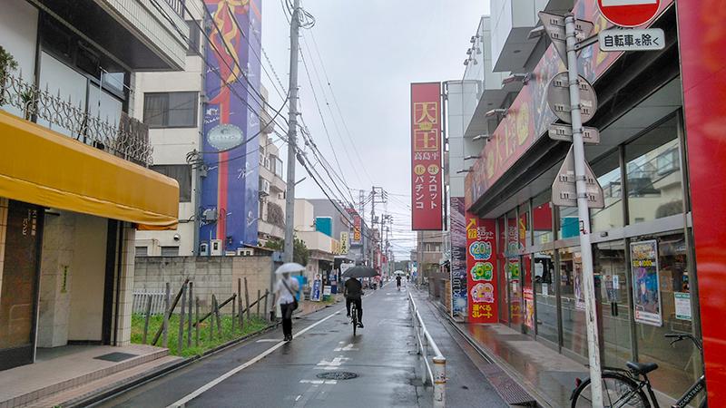 新高島平駅周辺の景色