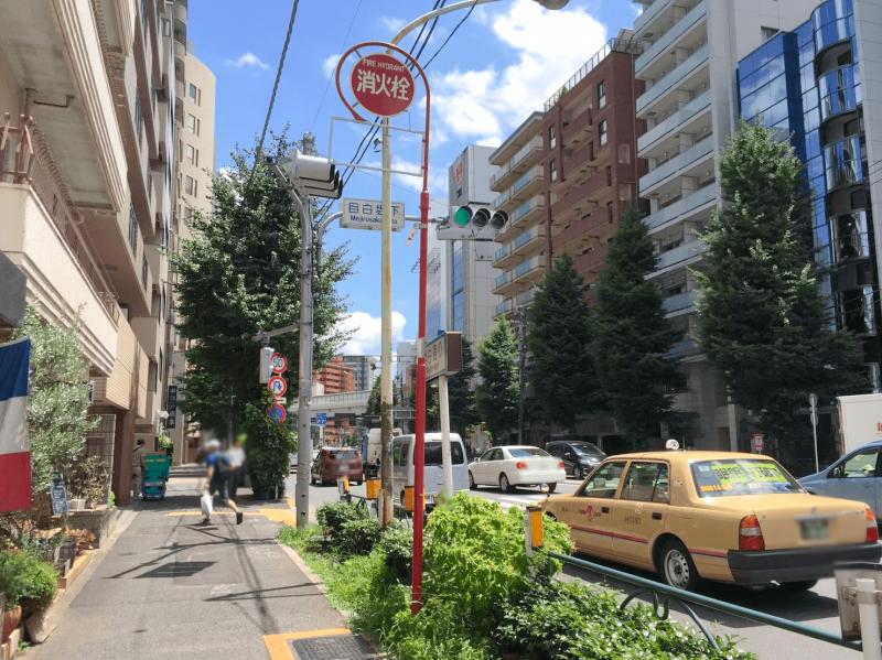 江戸川橋駅周辺の景色