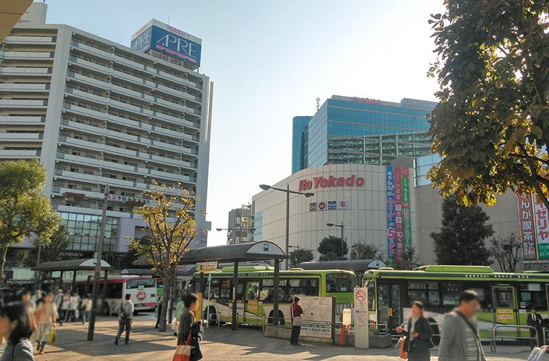 赤羽駅周辺の景色
