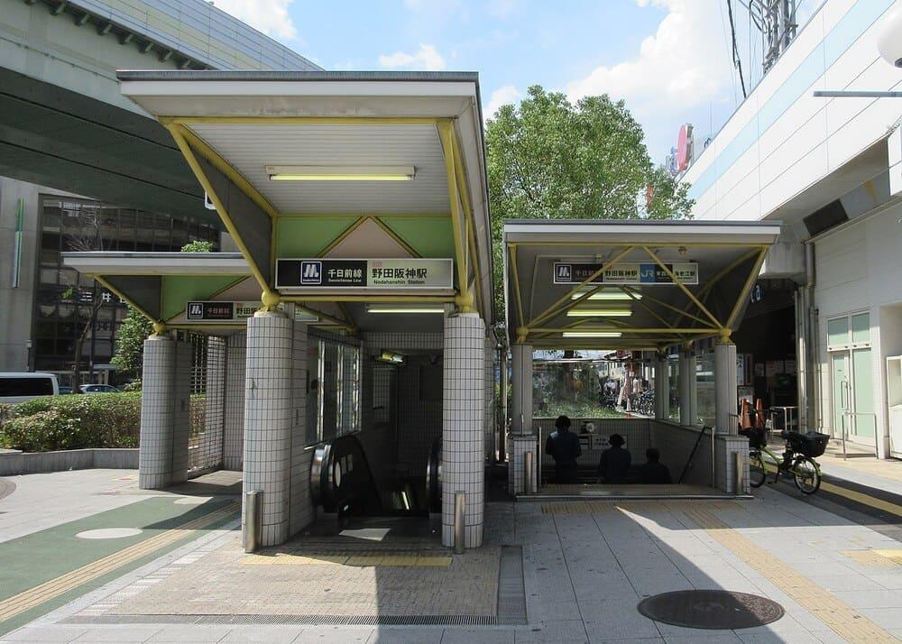 野田阪神駅の外観